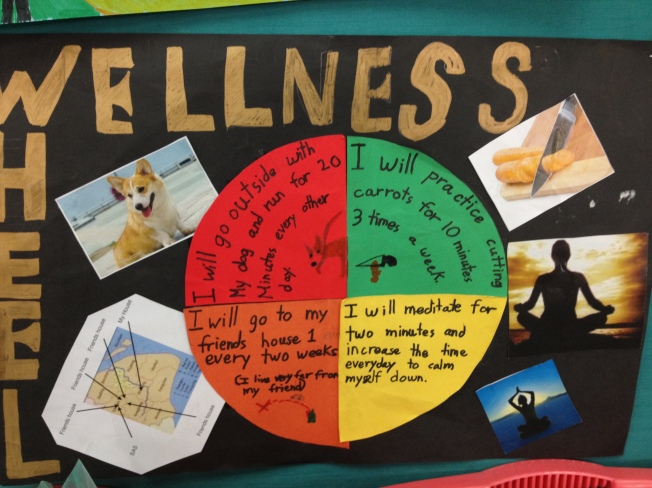 Wellness Wheel-6th Grade